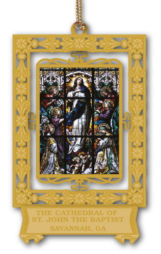 The Cathedral of St. John the Baptist Ornament