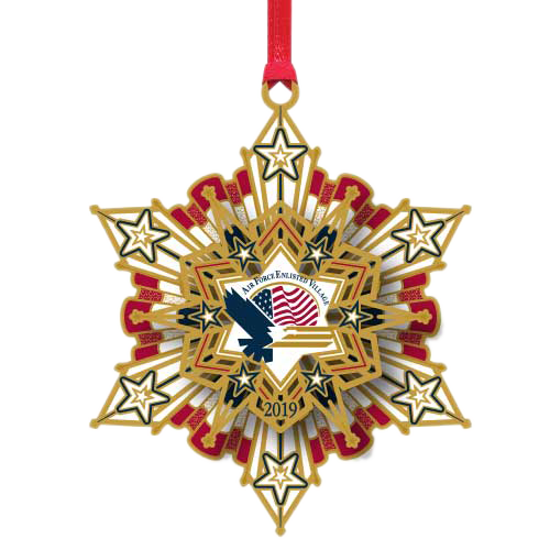 Air Force Enlisted Village Ornament