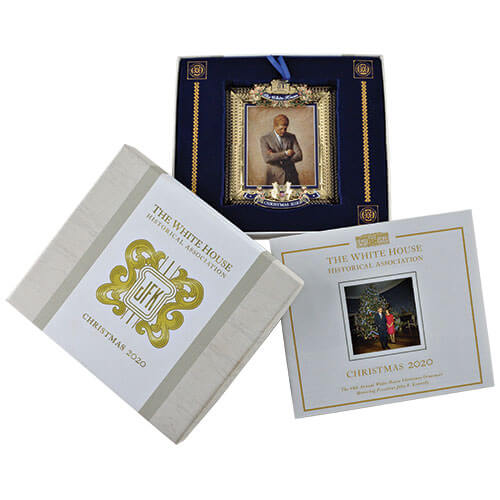 Annual White House ornament packaging
