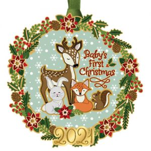 2021 Baby's First Christmas Ornament