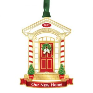 2021 our new home ornament